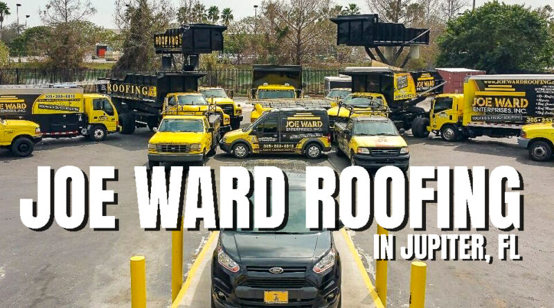 Joe Ward Roofing in Jupiter, Florida - JupiterFloridaUSA.com